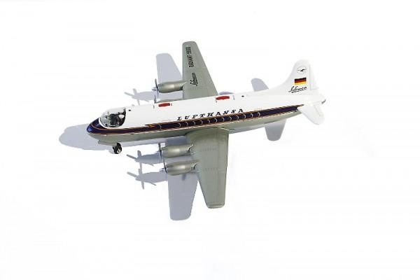 """Schuco Flugzeug Elektro Radiant 5600 """"Lufthansa"""" Ansicht links"""