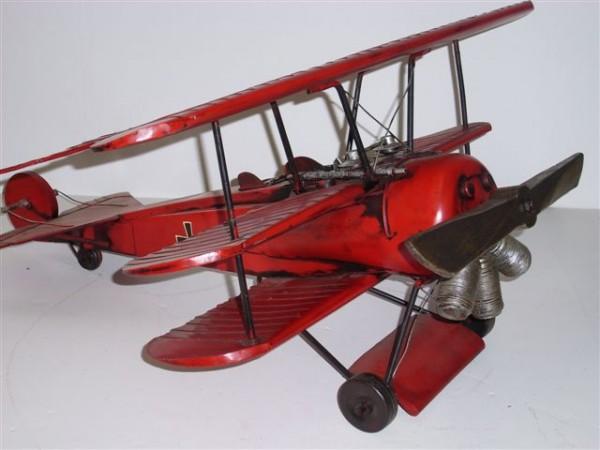 Fokker Dreidecker-Jagdflugzeug Dr. I - Großmodell Ansicht rechts