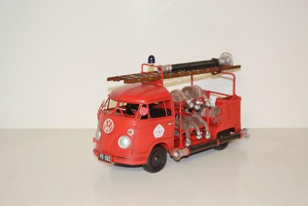 VW-Bulli Feuerwehr offen Ansicht links