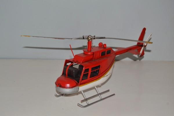 Bell Hubschraubermodell Ansicht links