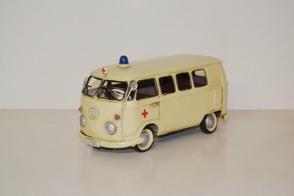 VW T1 Krankenwagen Ansicht links