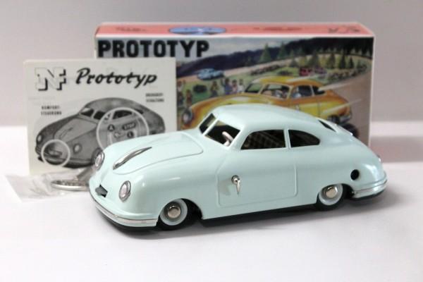 BUB - JNF Porsche Prototyp grün Ansicht links mit Karton