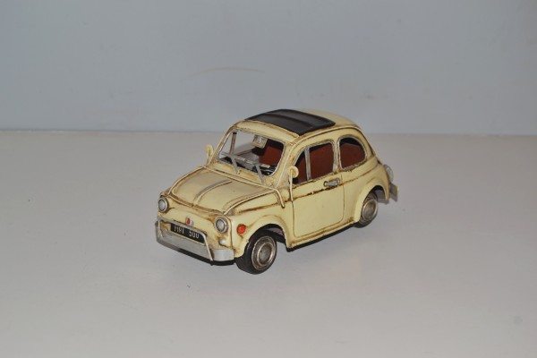 Fiat 500 Topolino Ansicht links