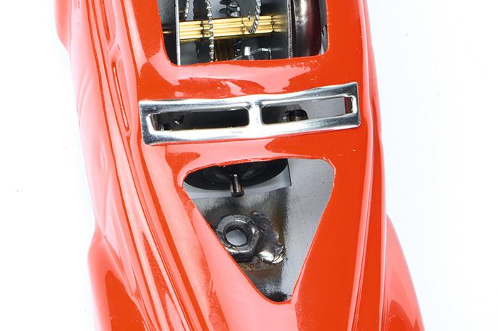 Blechspielzeug Schuco Wendeauto 1010 Schnittmodell rot