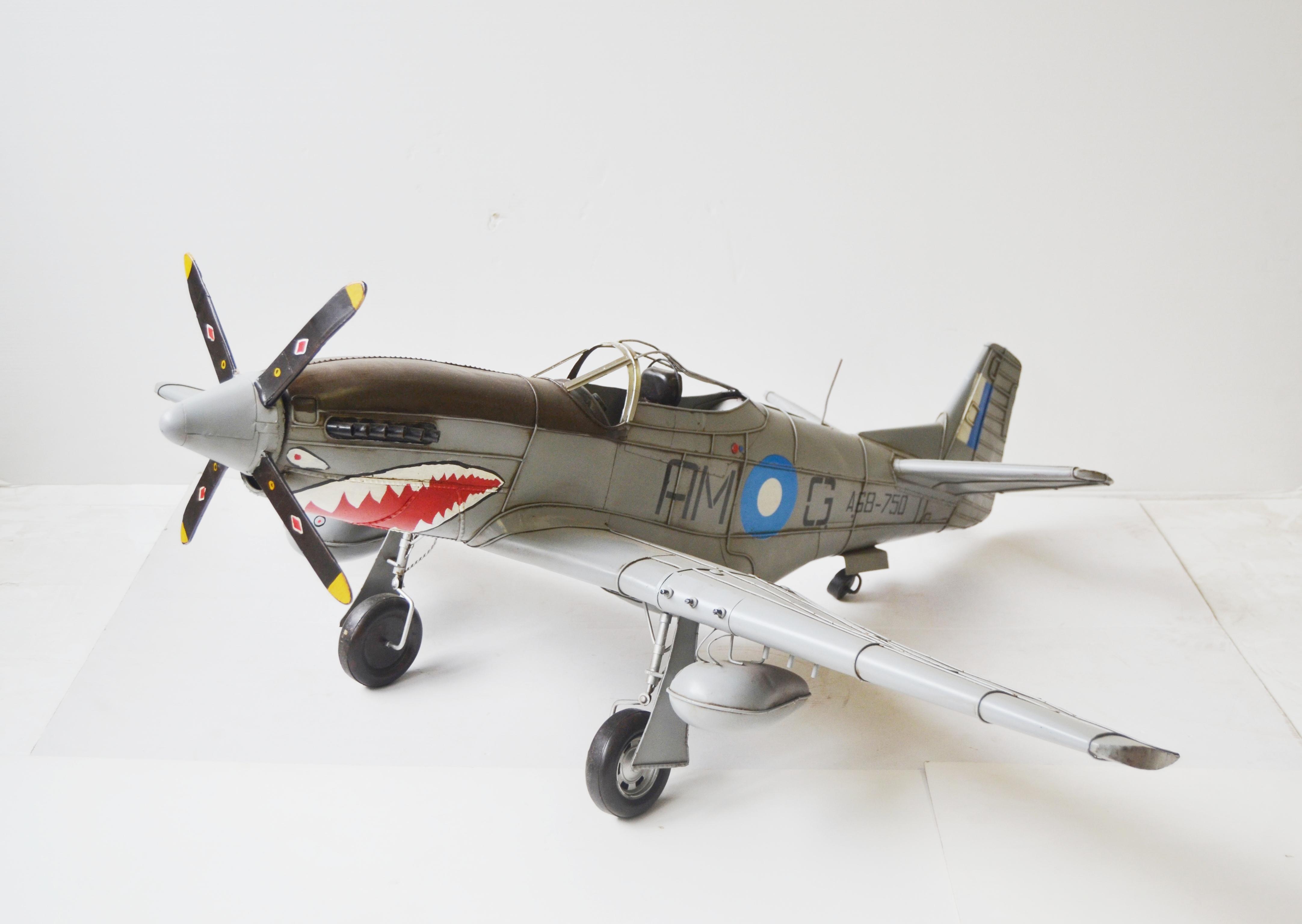 mustang p51 flugzeug modell jagdflugzeug flugzeugmodell. Black Bedroom Furniture Sets. Home Design Ideas