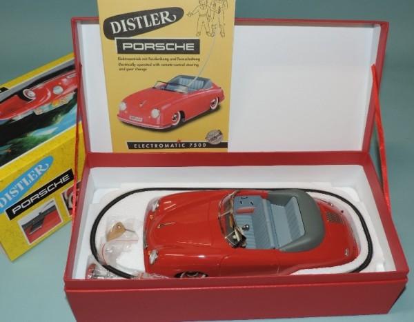Schuco Distler Porsche rot Ansicht im Karton mit Anleitung