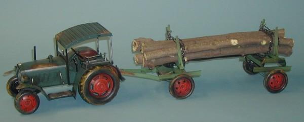 Hanomag-Traktormodell-m-Anh-nger-Blechmodell-37041
