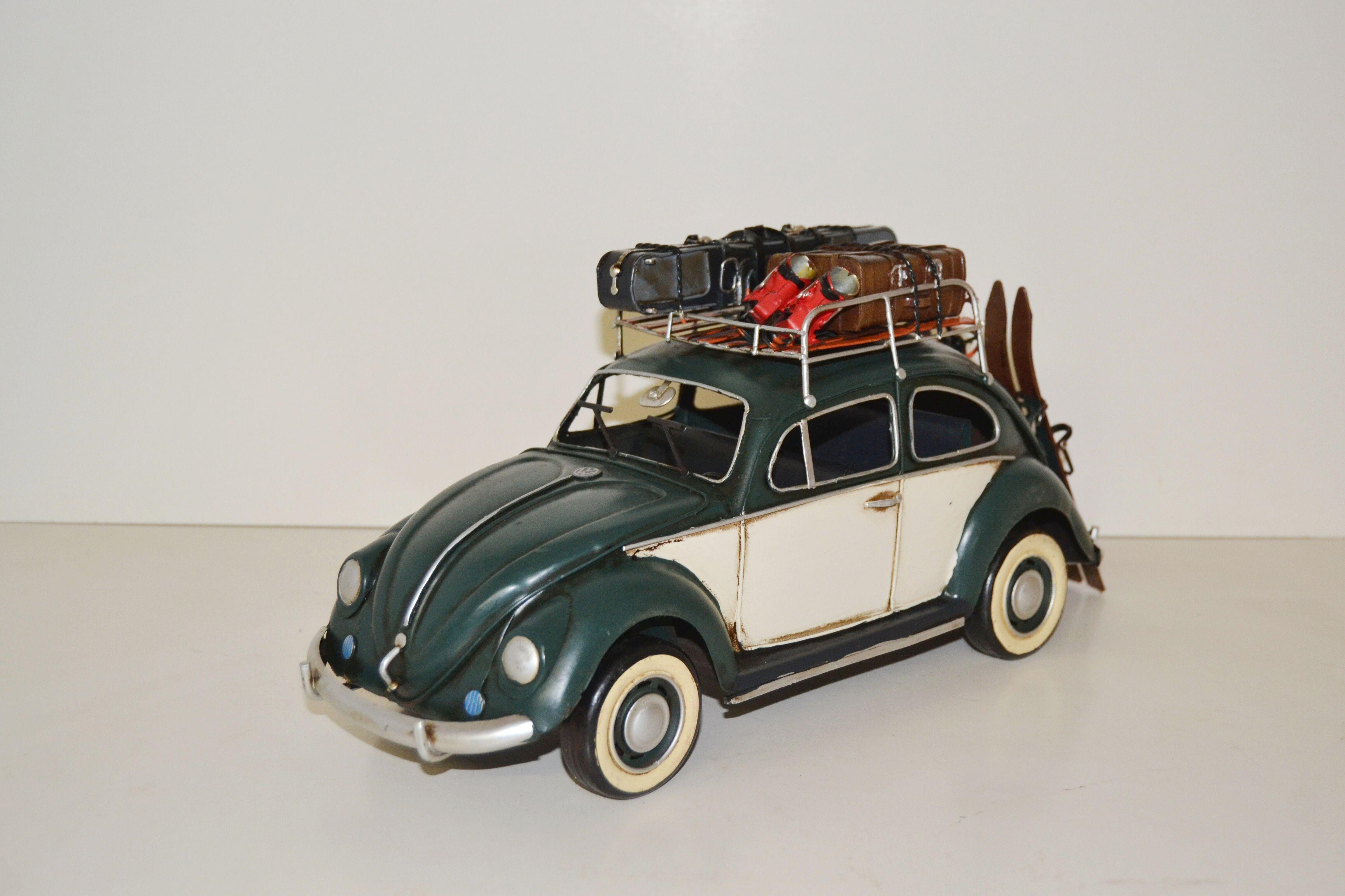 vw k fer modell mit dachgep cktr ger automodell modellauto. Black Bedroom Furniture Sets. Home Design Ideas
