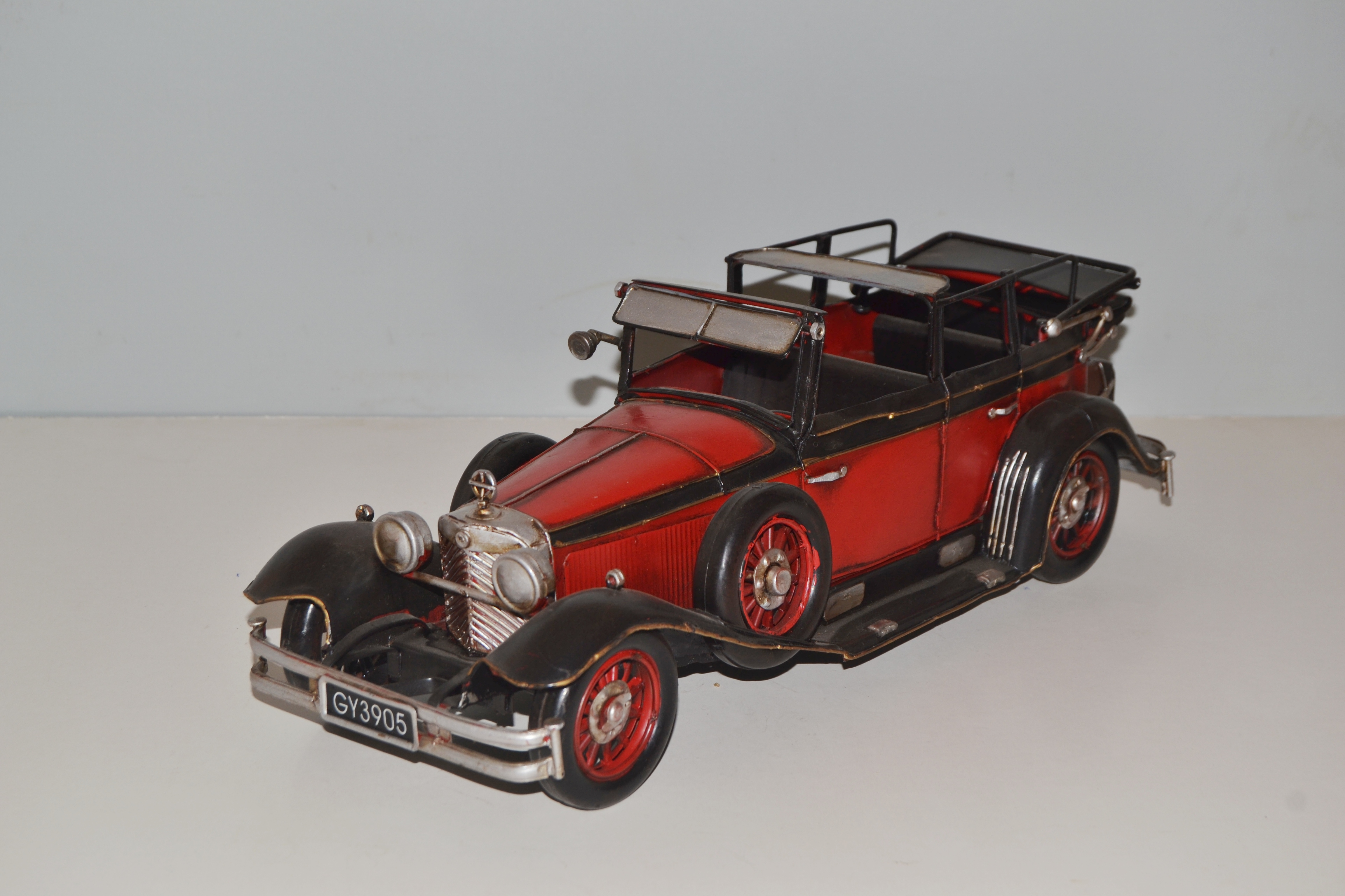 mercedes benz 770 k modell cabrio blechmodell automodell. Black Bedroom Furniture Sets. Home Design Ideas
