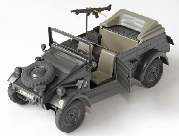Hendrix-Burghardt-K-belwagen-ohne-Verdeck-mit-MG-Deutsche-Wehrmacht-Blechspielzeugp3YW6gUc3OExb