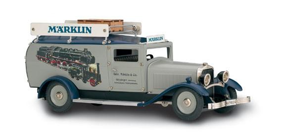 Märklin Modell Lieferwagen Märklin - einmalige MHI Serie Ansicht rechts