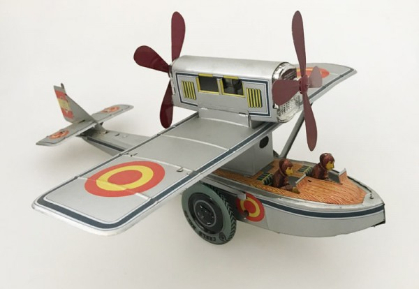Paya Wasserflugzeug Ansicht links