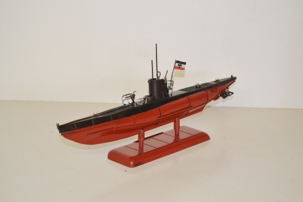 U-Boot Deutsche Kriegsmarine Ansicht links