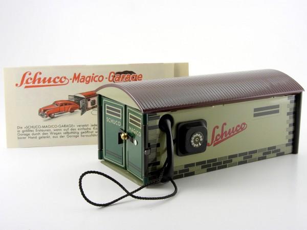 Schuco Magico Garage mit Karton