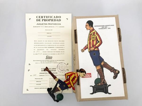 Paya Figur Fußballer Ansicht mit Karton