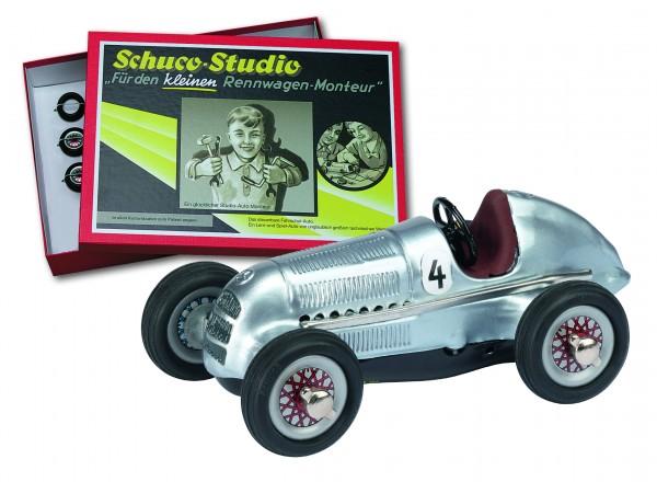 Schuco Studio I Mercedes Benz 1936 Montagekasten Ansicht mit Karton
