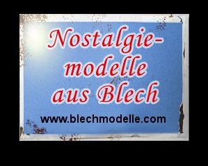 Blechmodelle