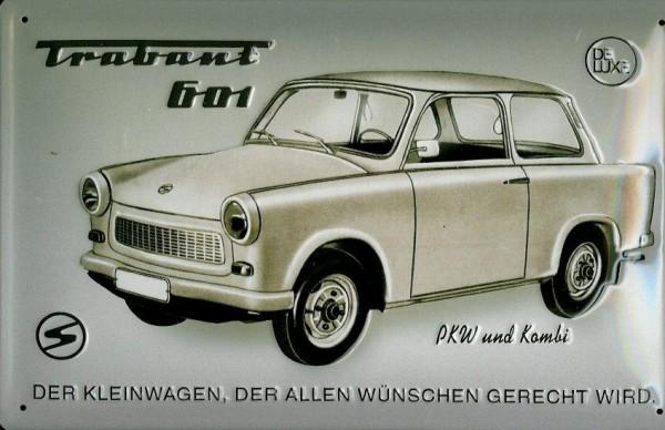 Blechschild Trabant Automobile Reklameschild