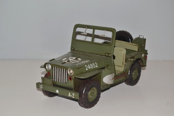 US-Army Willys Jeep Ansicht links