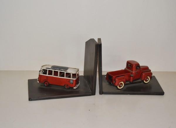 Buchstützen VW-Bulli - US Chevrolet