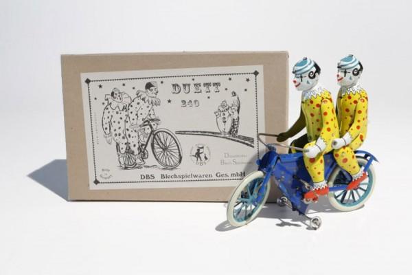 "DBS Radfahrermodell Clowns ""Duett"" mit Karton"