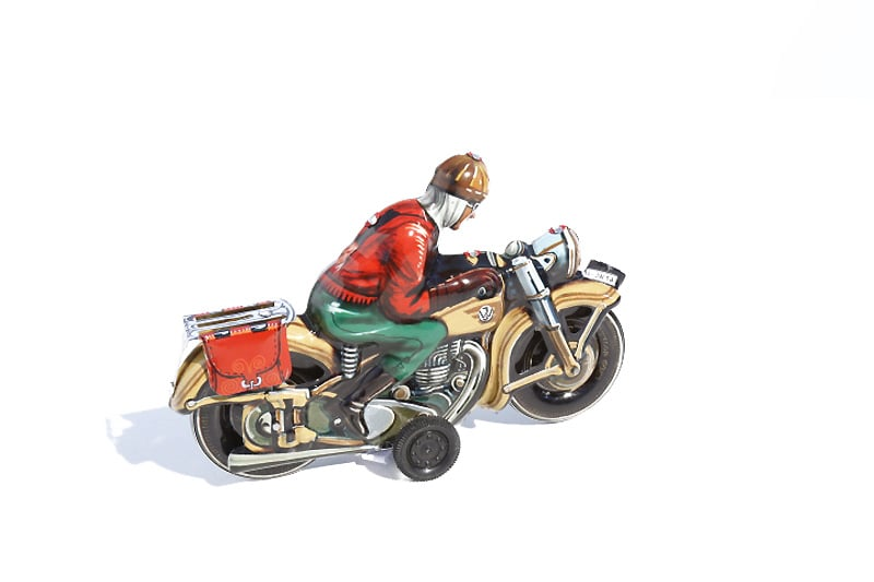 "Made in Germany Motorrad /""SEPP/"" Tipp /& Co Nachbau Blechspielzeug Neu 2019"