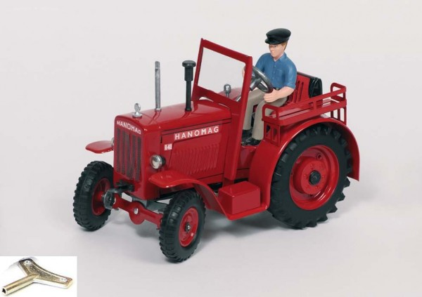Hanomag-R40-Traktor-Blechmodell-Blechspielzeug
