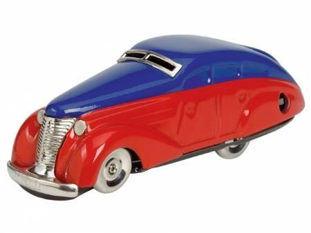 Schuco Classic Wendeauto-Limousine 1010 Modell rot/blau - Schuco Patent-Auto Neuauflage: 2007
