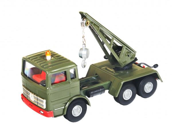 KOVAP Mercedes Lkw Militär Kranwagen Ansicht links