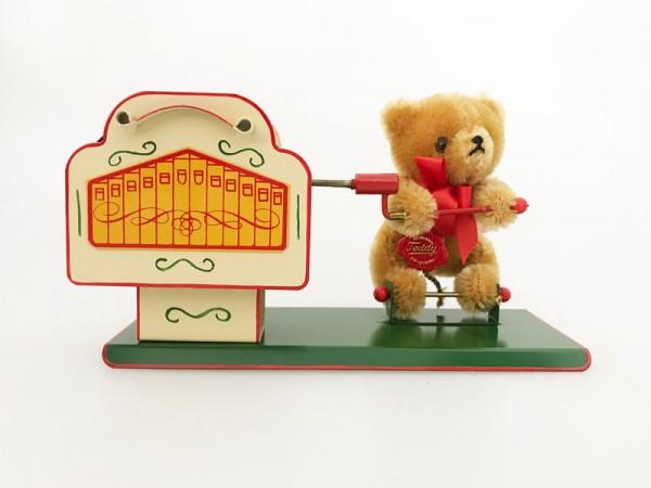 Tucher & Walther Teddy-Bär mit Leierkasten Ansicht Front
