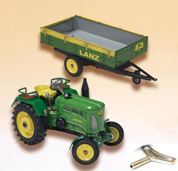 Blechspielzeug-KOVAP-Lanz-John-Deere-D2016
